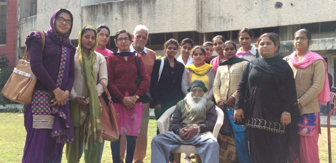 Visit At Old Age Home