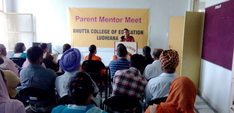 Parents Meeting
