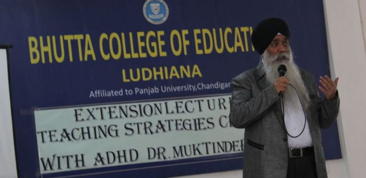 Extension Lecture on ADHD